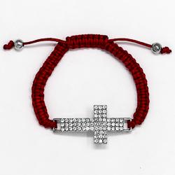 Strass Crystal Cross Bracelet.
