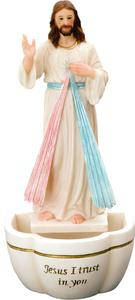 Divine Mercy Holy Water Font.