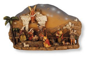 Nativity Plaque.