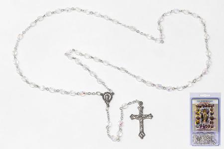 The Holy Rosary Novena Book with Rosary.