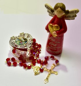 Christmas Gift Set with Angel.