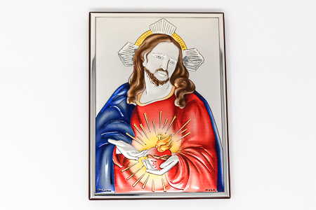 Sacred Heart of Jesus Wall Plaque.