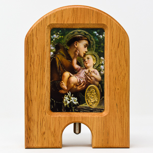 Saint Anthony Holy Water Dispenser.