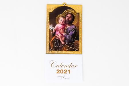Saint Joseph Magnetic 2021 Calendar