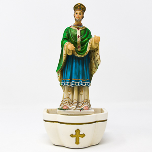 Saint Patrick Holy Water Font.