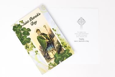 Saint Patrick Card.