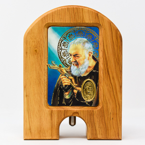 Saint Pio Holy Water Water Dispenser.