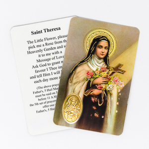 Novena to Saint Theresa.
