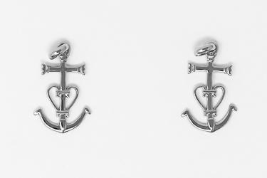 Cross & Anchor Pendant