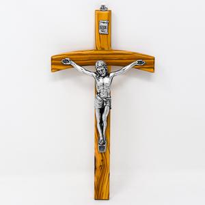 Olive Wood Crucifix.