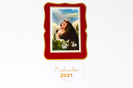 St. Anthony Bless this House 2021 Calendar.