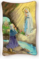 Lourdes Wall Plaque.