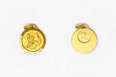 St. Christopher Gold Medal.