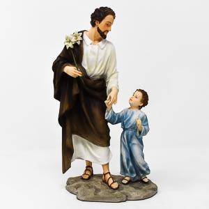 St.Joseph Statue with Jesus.
