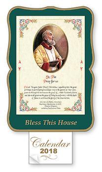 St. Pio Bless this House 2018 Calendar.
