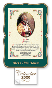 St. Pio Bless this House 2020 Calendar.