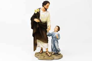 St.Joseph Statue with Jesus.