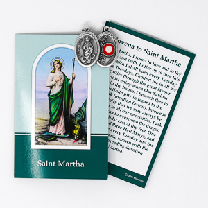 St.Martha Relic Medal.