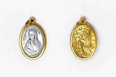 St Bernadette Medal.