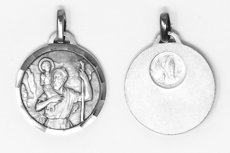 St Christopher Silver Medal