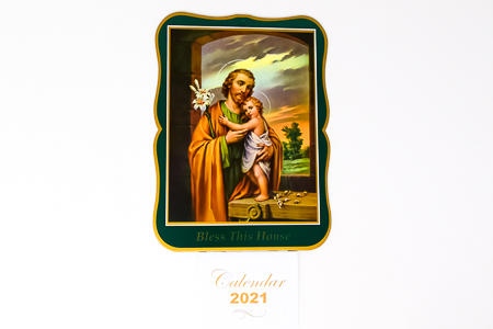 St.Joseph Bless this House 2021 Calendar.