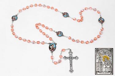St Rita Rosary Beads.