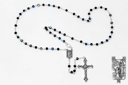 Black Crystal Rosary.