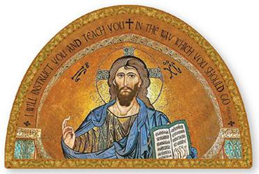 Icon Teaching Christ Wall Plaque