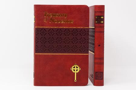 Treasury of Novenas Book.