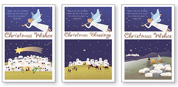 Angel Christmas Cards Boxed - Trócaire.