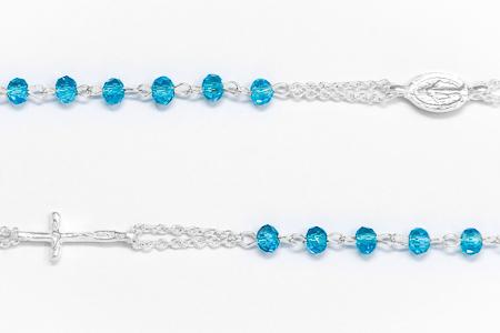 Miraculous Turquoise Rosary Bracelet