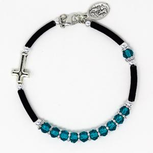 Crystal Rosary Bracelet.