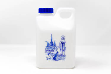10 Liters of Lourdes Holy Water