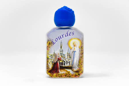Beautiful Color Bottle of Lourdes Holy Water