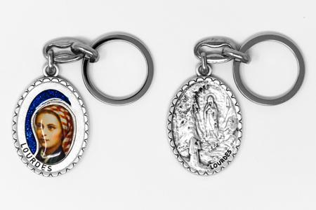 St Bernadette Key Ring.