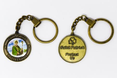 St Patrick Key Chain.