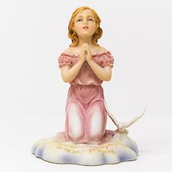 Praying Girl Statue.
