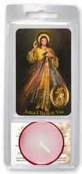 Divine Mercy Votive Candle & Prayer.