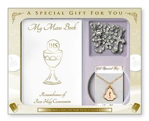 Chalice First Holy Communion Keepsake Gift Set.