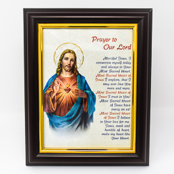 Sacred Heart Framed Picture.