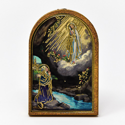 Lourdes Apparition Magnet.