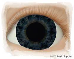 Eye Dark Blue