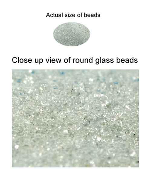 Glass beads 350