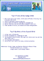 Crystal Indigo Top Traits